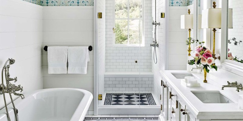 10 White Bathroom Inspirations For Your Home (4) bathroom inspiration 10 White Bathroom Inspirations For Your Home 10 White Bathroom Inspirations For Your Home 4