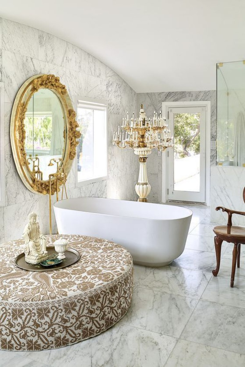 10 White Bathroom Inspirations For Your Home (6) bathroom inspiration 10 White Bathroom Inspirations For Your Home 10 White Bathroom Inspirations For Your Home 6
