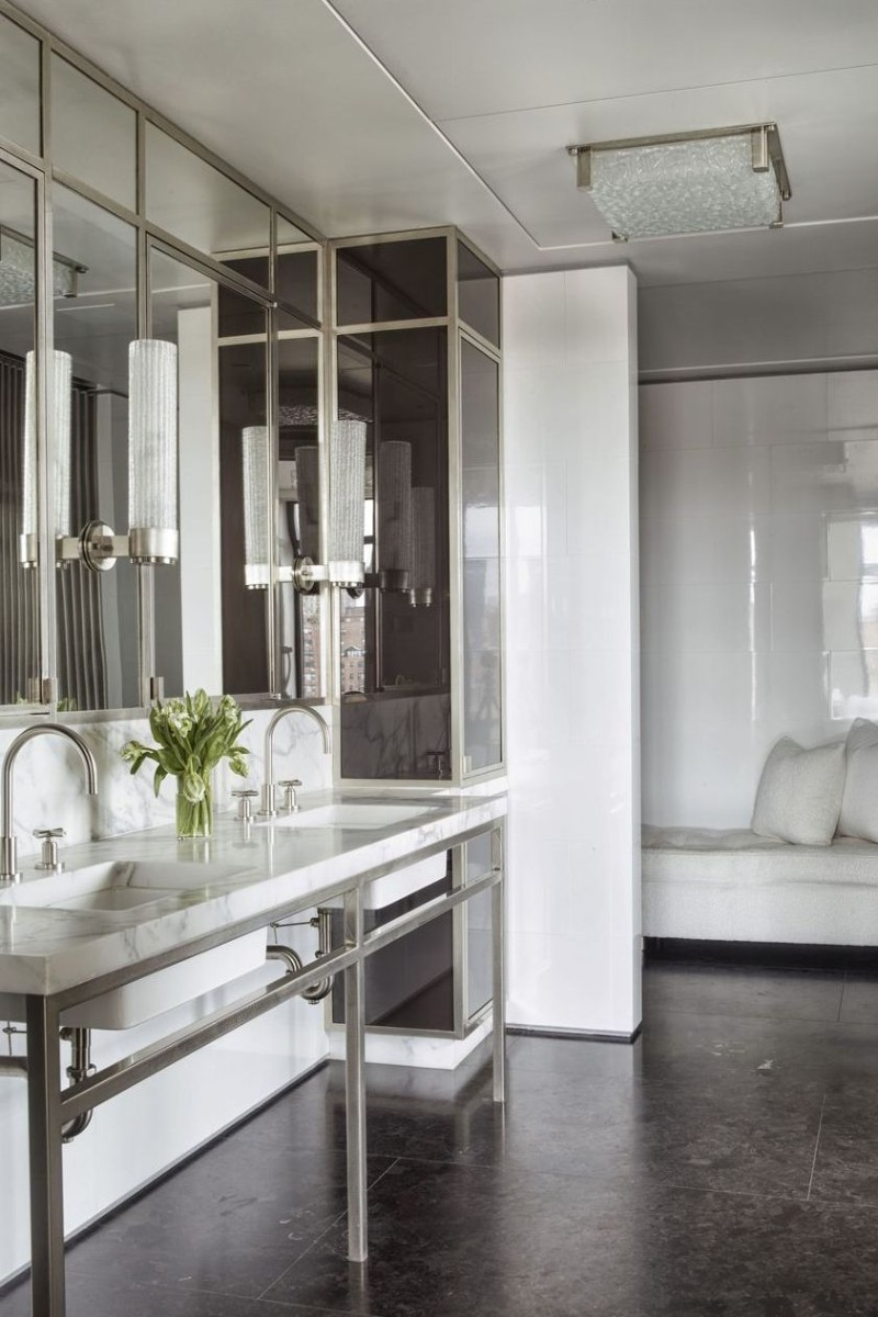 10 White Bathroom Inspirations For Your Home (9) bathroom inspiration 10 White Bathroom Inspirations For Your Home 10 White Bathroom Inspirations For Your Home 9