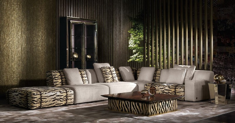 Salone del Mobile 2019: Here Are The Top Brands in Exhibition salone del mobile 2019 Salone del Mobile 2019: Here Are The Top Brands in Exhibition Roberto cavalli home living turner sofas