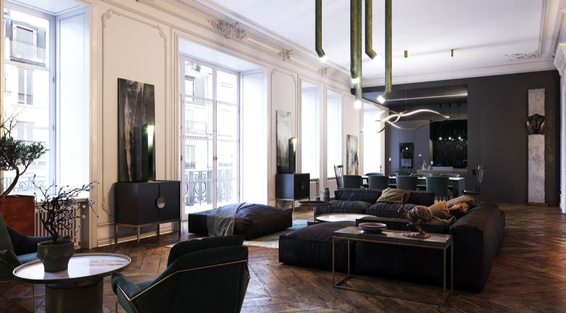 luxury apartment Get Inspired by This Luxury Apartment From Dmitry Grinevich Get Inspired by This Luxury Apartment From Dmitry Grinevich 1