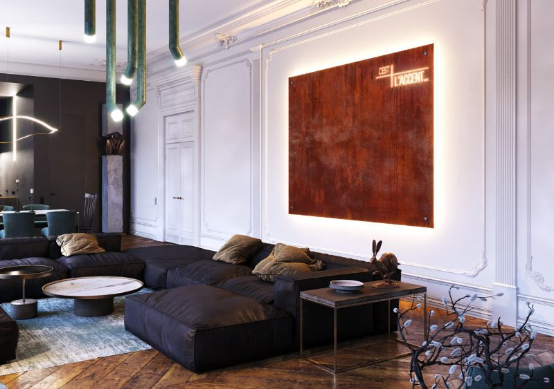 Get Inspired by This Luxury Apartment From Dmitry Grinevich (2) luxury apartment Get Inspired by This Luxury Apartment From Dmitry Grinevich Get Inspired by This Luxury Apartment From Dmitry Grinevich 2