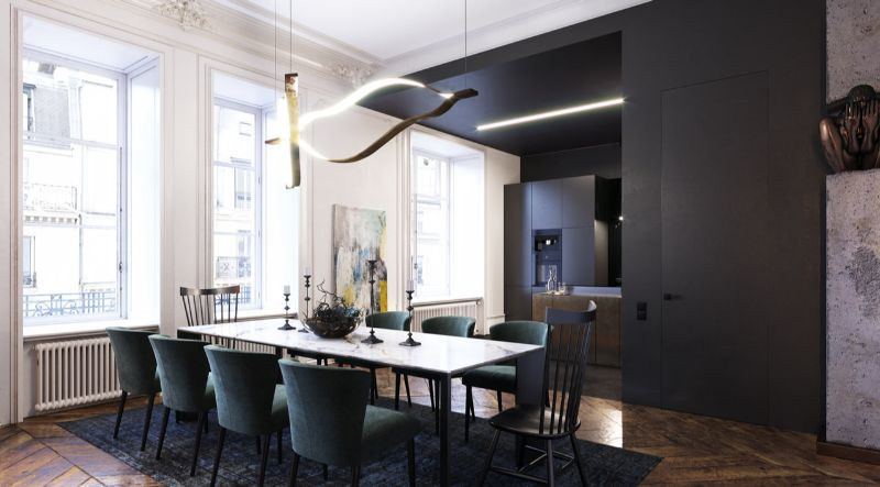 luxury apartment Get Inspired by This Luxury Apartment From Dmitry Grinevich Get Inspired by This Luxury Apartment From Dmitry Grinevich 3