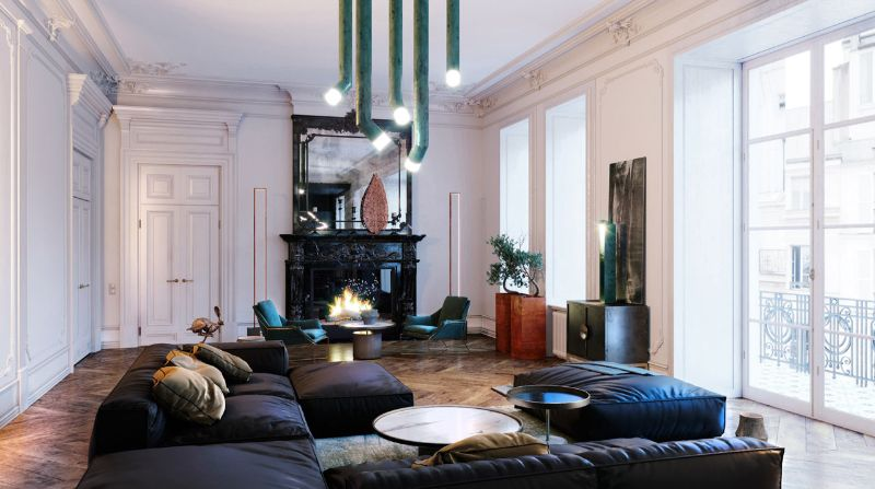 Get Inspired by This Luxury Apartment From Dmitry Grinevich (4) luxury apartment Get Inspired by This Luxury Apartment From Dmitry Grinevich Get Inspired by This Luxury Apartment From Dmitry Grinevich 4