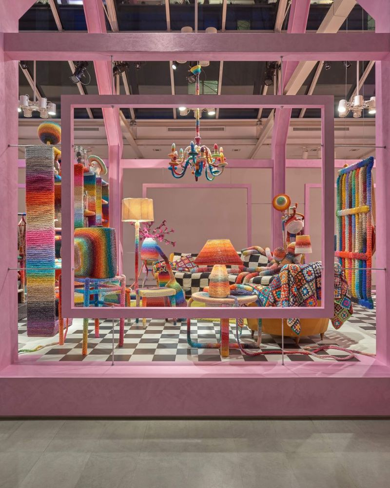 Milan Design Week 2019 – Missoni Home's Crochet Rooms (3) milan design week Milan Design Week 2019 – Missoni Home's Crochet Rooms Milan Design Week 2019     Missoni Home   s Crochet Rooms 3