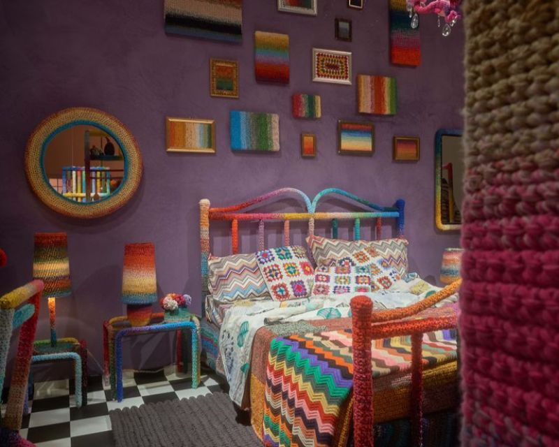 Milan Design Week 2019 – Missoni Home's Crochet Rooms (6) milan design week Milan Design Week 2019 – Missoni Home's Crochet Rooms Milan Design Week 2019     Missoni Home   s Crochet Rooms 6