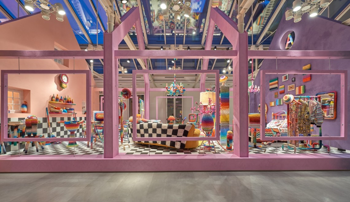 Milan Design Week 2019 – Missoni Home's Crochet Rooms