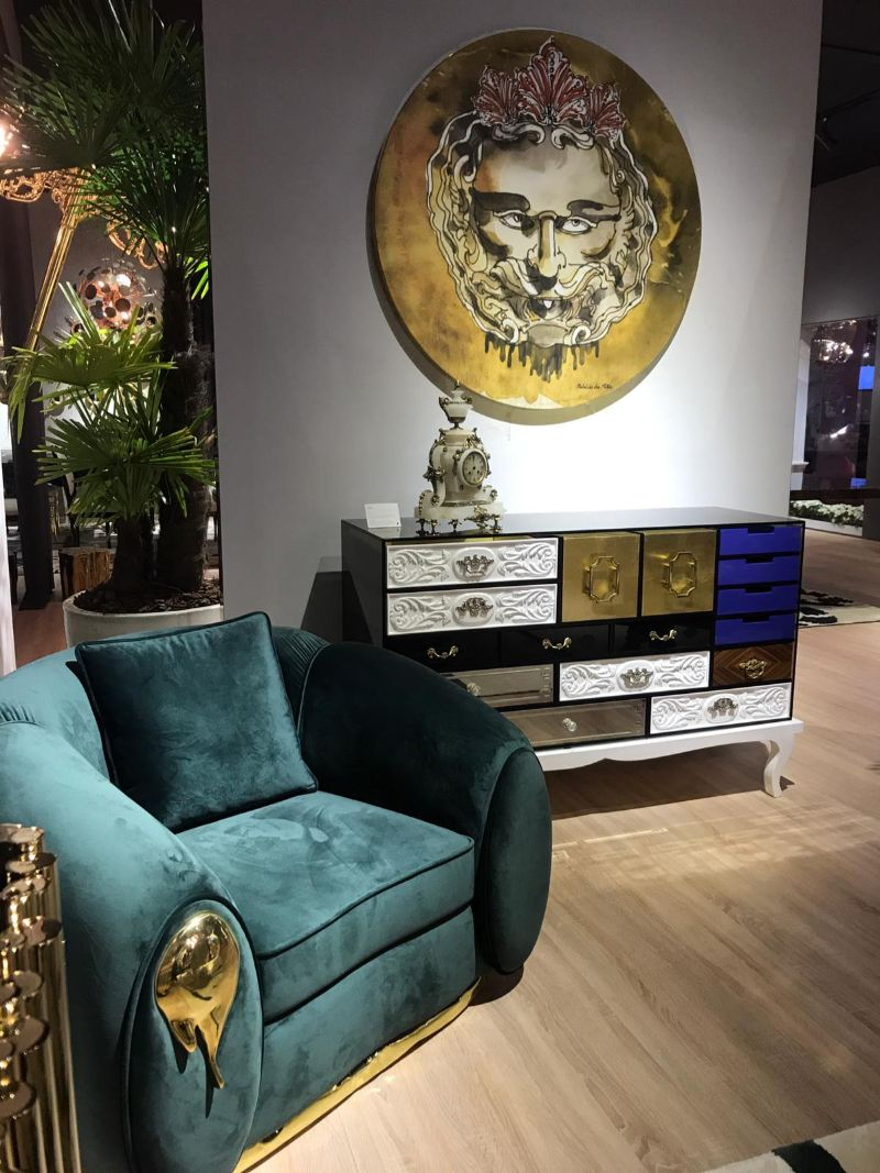 Salone del Mobile 2019 – First Design Highlights from the First Day salone del mobile Salone Del Mobile 2019 – A Look at Boca do Lobo's First Highlights Salone del Mobile 2019 Find Out What Happened On Its First Days 800 2 1