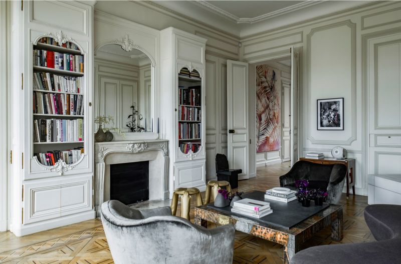 Discover This Luxury Apartment in Paris (3) luxury apartment Discover This Luxury Apartment in Paris Discover This Luxury Apartment in Paris 3