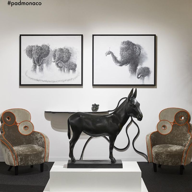 Highlights For Your Home From PAD Monaco 2019 Art Fair (8) art fair Highlights For Your Home From PAD Monaco 2019 Art Fair Highlights For Your Home From PAD Monaco 2019 Art Fair 8