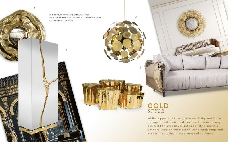 Design Trend - Gold Details For Your Interior Design (7) design trend Design Trend – Gold Details For Your Interior Design Design Trend Gold Details For Your Interior Design 7