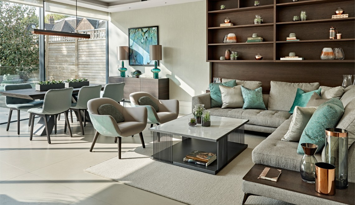 Elegant and Luxury Design by Tailored Living Interiors