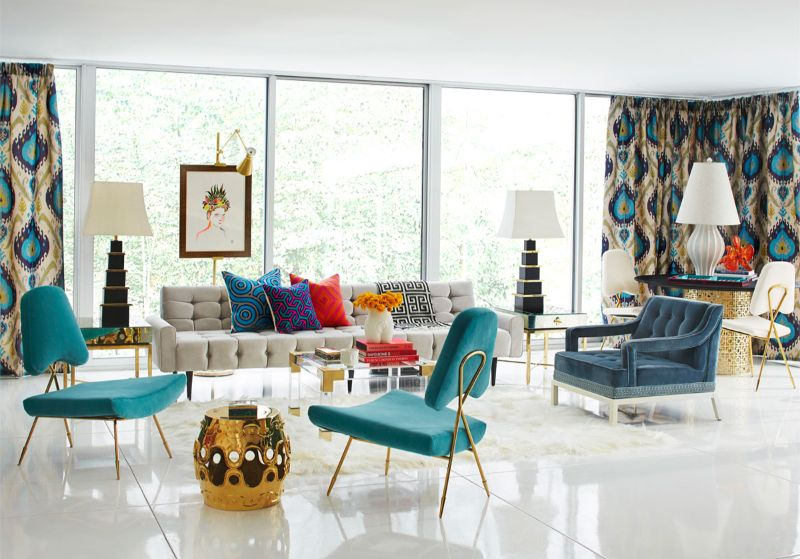 Top Interior Designers You Should Know top interior designer Top Interior Designers You Should Know 18706 The Jonathan Adler Rutledge Sofa well surrounded