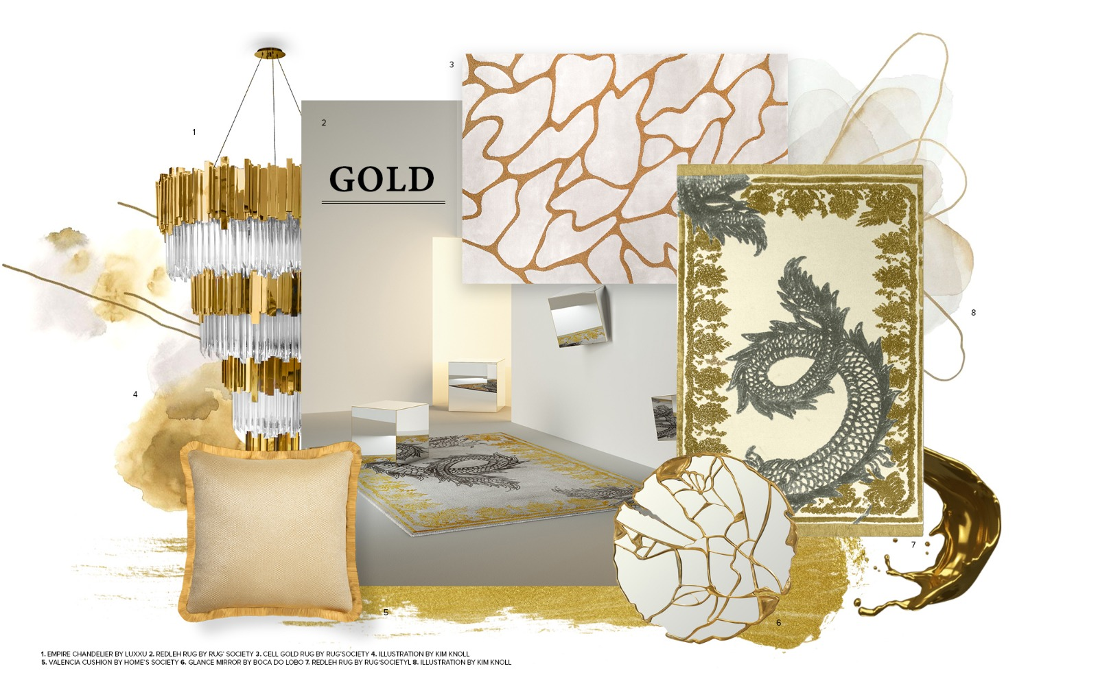 Gold & White Is The Newest Design Trend Of Your Dreams (2) design trend Gold & White Is The Newest Design Trend Of Your Dreams Gold White Is The Newest Design Trend Of Your Dreams 2