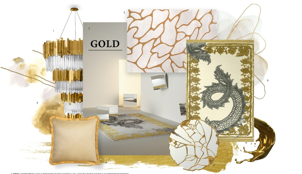 Gold & White Is The Newest Design Trend Of Your Dreams FT design trend Gold & White Is The Newest Design Trend Of Your Dreams Gold White Is The Newest Design Trend Of Your Dreams FT