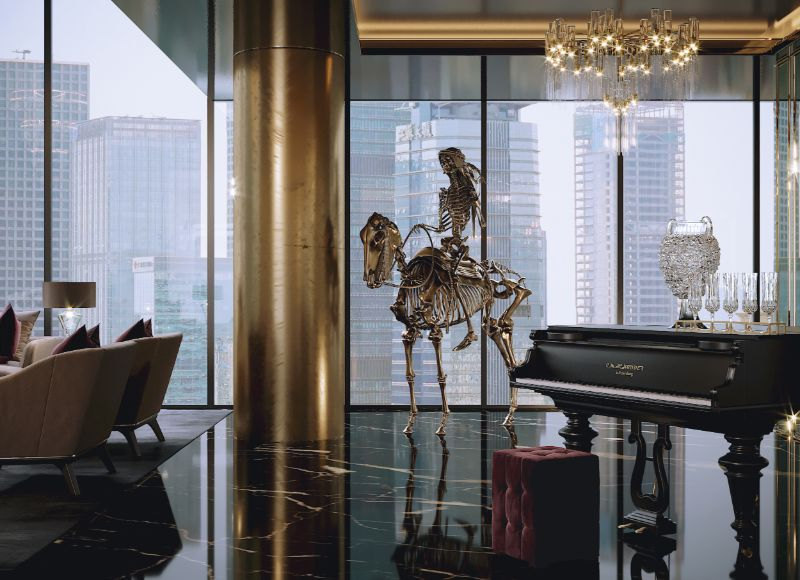 Celia Sawyer Designs Masculine Yet Glamorous Luxury Home (9) luxury home Black and Gold Reign In This Luxury Home Celia Sawyer Designs Masculine Yet Glamorous Luxury Home 9