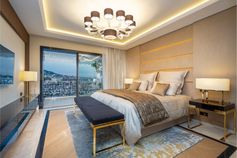 An Opulent French Apartment That Overlooks The Port Of Cannes (10) french apartment An Opulent French Apartment That Overlooks The Port Of Cannes An Opulent French Apartment That Overlooks The Port Of Cannes 10